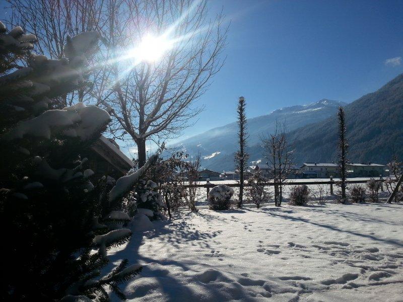 Apart Tyrol Blick Winter