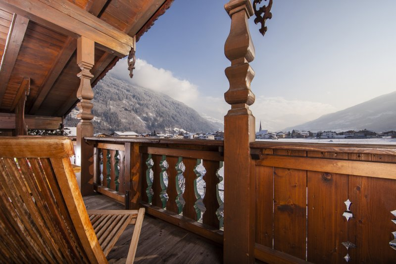 Balkon im Apart Luis im Zillertal