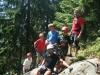 Klettern mit unseren Gästen Apart Tyrol