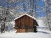 Wandern im Schnee im Zillertal