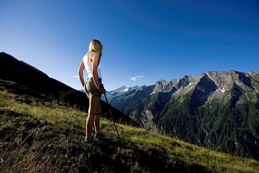 Zillertal Aktiv Card wandern klettern Berggfahrt