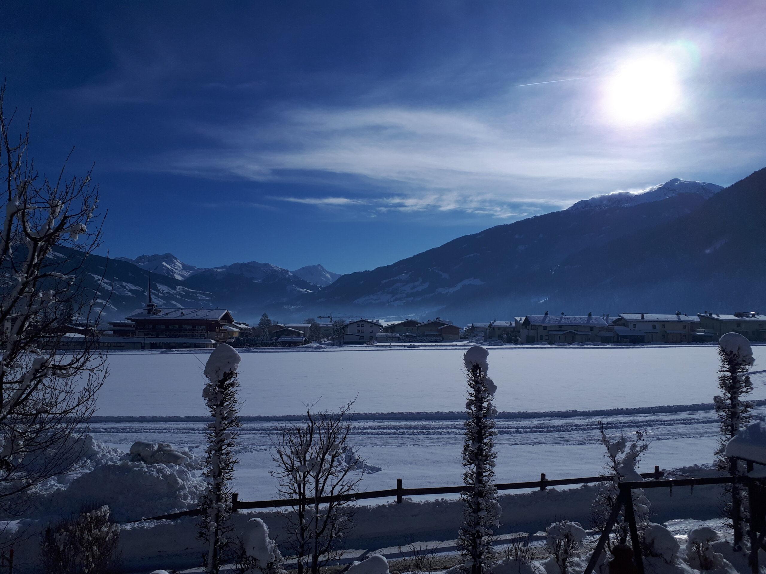 View mountain freier Bergblick